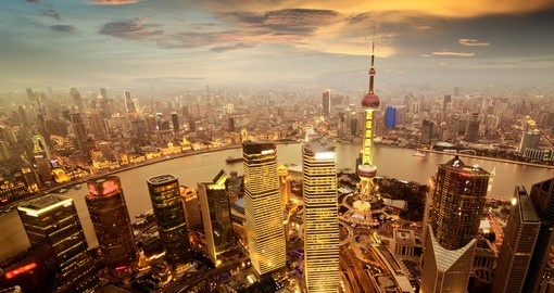 Get caught in the bustle of Shanghai's financial zone on your China Tour