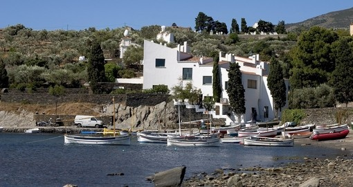 Experience Dali's house in Port Lligat on your next trip to Spain.