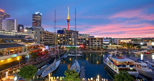Explore Auckland Harbour during your next trip to New Zealand.
