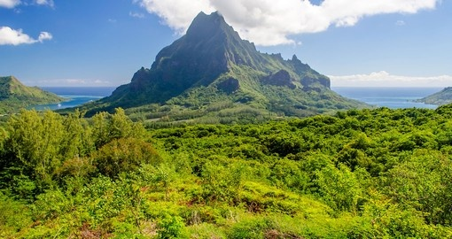 See the beautiful Island of Moorea during your Tahiti vacation.
