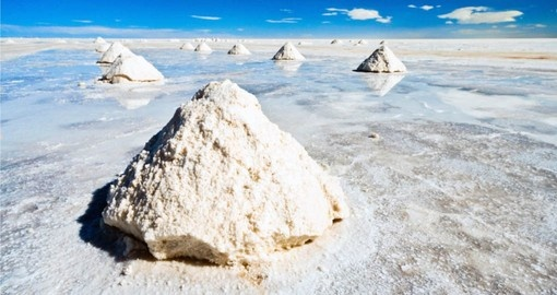 See the great salt lake of Uyuni on your Bolivia vacation