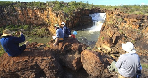Discover Mitchell Falls in Kimberleys on your next trip to Australia.