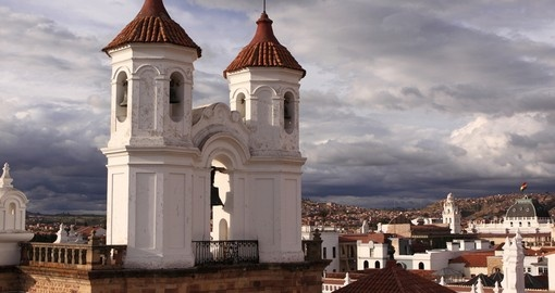 Cathedral in Sucre