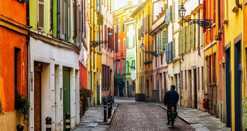 Include a visit to Parma is famous for its food and rich gastronomical tradition on your Italy vacation package