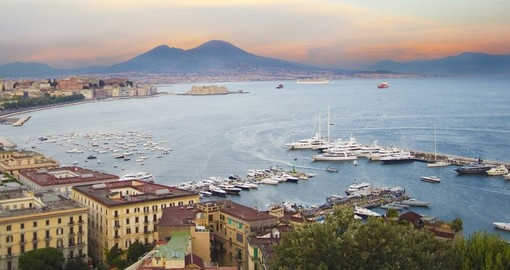 Naples is part of your trip to Italy
