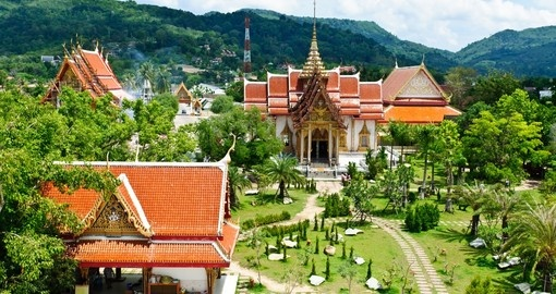 See the Wat Chalong Temple on your Thailand vacation