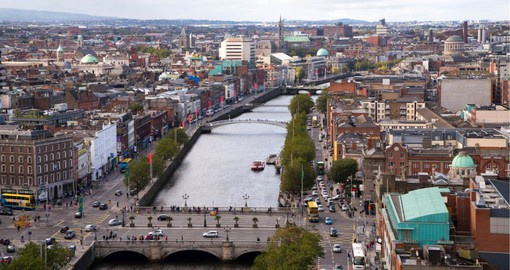 Cosmopolitan and stylish, Dublin reputation exceeds it's small size