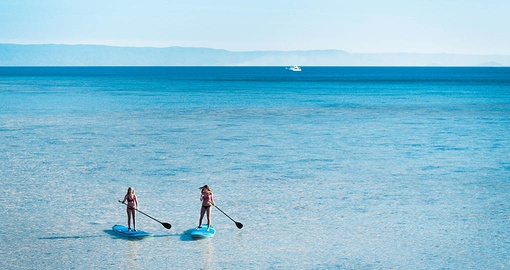 Spend a day paddle boarding on your Australia Tour