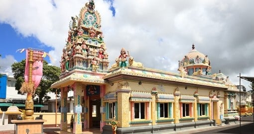 Hindu temple in Port Louis