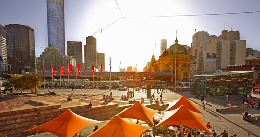 Visit Federation Square in Melbourne during your next Australia vacations.