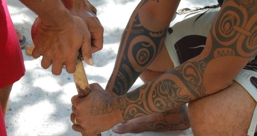 Have an authentic Polynesian experience on your trip to Moorea