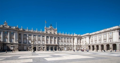 Visit the Royal Palace in Madrid on your trip to Spain