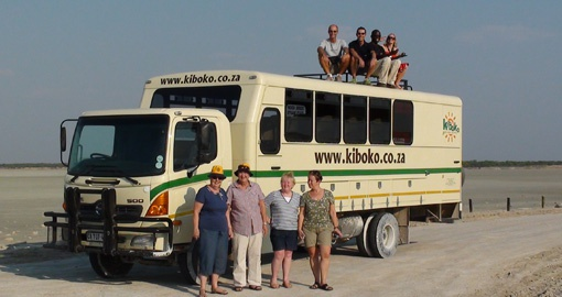 Kiboko overland vehicle