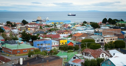 Your South America Tour cruises the waters of The Strait of Magellan
