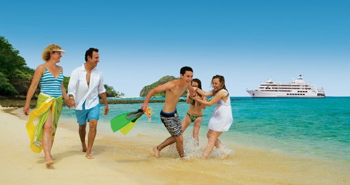 Have a Family fun on Captain Cook cruises on your next Fiji vacations.