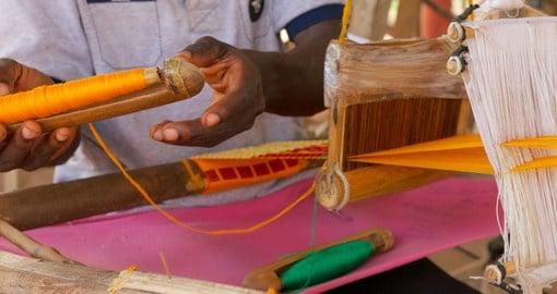 The Ashanti Region, in south Ghana, has a legacy of craftsmanship