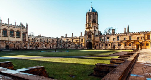 A visit to Christ Church at Oxford University in included on your England vacation