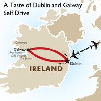 A Taste of Dublin and Galway Self Drive