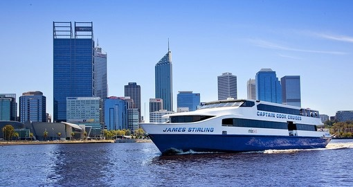 Cruise the scenic Swan River during your Australia vacation.