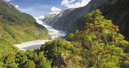 The mighty Franz Josef Glacier, named after Emperor Franz Joseph I of Austria