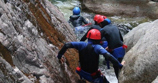 A fun introduction to the sport of Canyoning