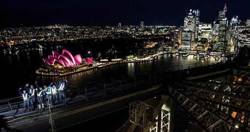 Why not climb Sydney Harbour Bridge?