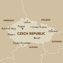 CZECH REPUBLIC Map New