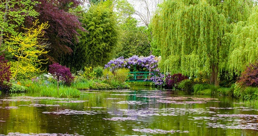 Enjoy beautiful gardens on your France Tour