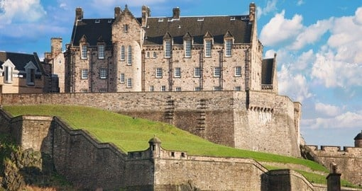 Visit Edinburgh Castle and explore its amazing architecture during your next London vacations.