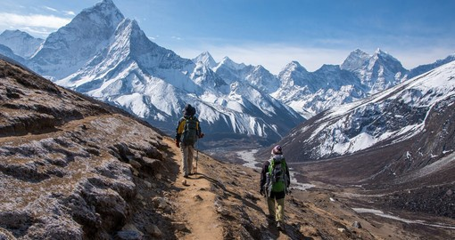 Enjoy a trek throughout the mountains at a relaxing pace on your Nepal Vacations