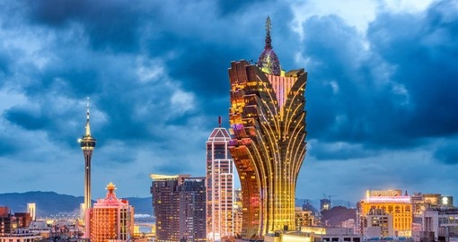 Experience the bustle and excitement of the city on your Macau Tour