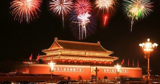 See historic Tian An Men Square on your China Tour