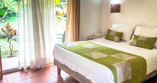 Your Chile Vacation Package includes comfortable rooms at the Hotel Rapa Nui