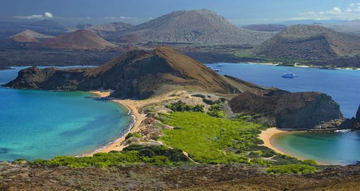 Visit Bartolome Island  on your Galapagos Tour