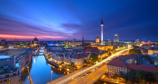 The beautiful city of Berlin - a must inclusion for all Germany tours.