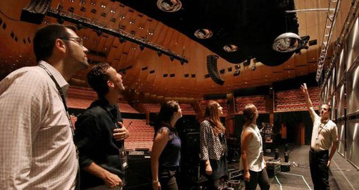 Add the unique experience of a backstage visit to the Sydney Opera House part of your Australia Vacation
