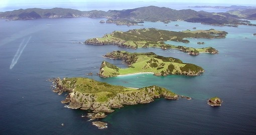 Bay of Islands in Northern New Zealand