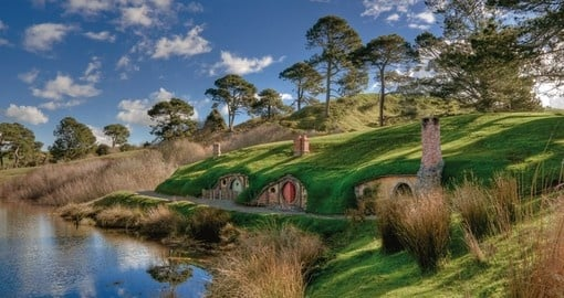 "Visit ""Hobbiton"" - the set from Lord of the Rings"