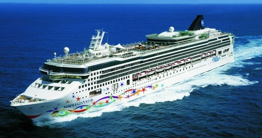 Your Mediterranea vacation is aborad the Norwegian Star