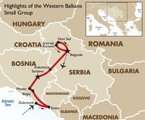 Highlights of the Western Balkans Small Group Dubrovnik to Belgrade