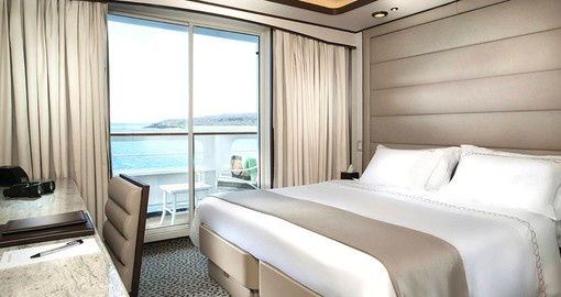 Relax in your Double Suite on your Galapagos Cruise