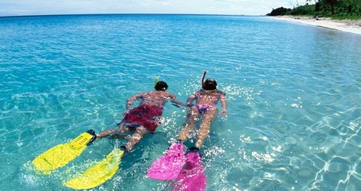 Experience snorkeling on your next Fiji vacations.