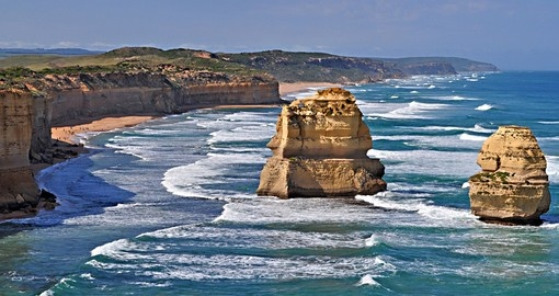 Twelve apostles, Famous rock formations
