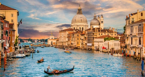 Drift down the Grand Canal on your Italy Tour