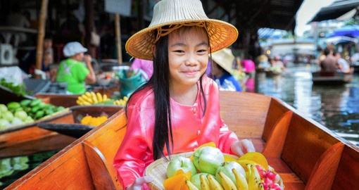 Explore Floating Market in Bangkok during your next Thailand vacations.