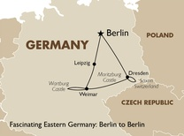 Fascinating Eastern Germany: Berlin to Berlin