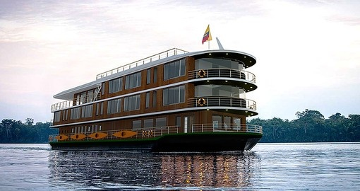 Cruise the Amazon on the luxurious Manatee Amazon on your Ecuador Vacation