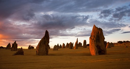 Experience the Nambung National Park and the Pinnacles on your trip to the Australian Outback