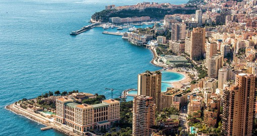 Monaco, the tiny independent city-state on the Mediterranean is known for its upscale casinos, harbour & Grand Prix
