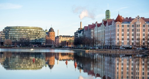 Explore Downtown Helsinki on your Finland Tour